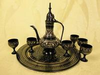 Набор brass wine set black высота~15sm